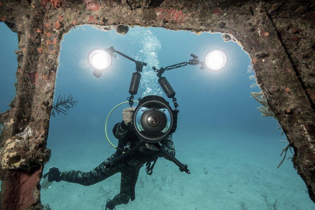 Riprese subacquee e aeree